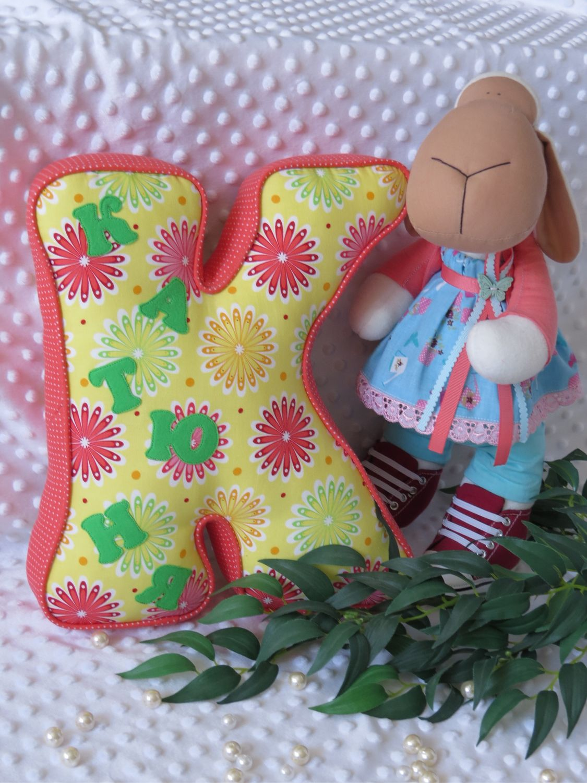 Буква подушка, игрушка, Подушки, Москва,  Фото №1