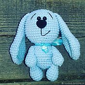 Куклы и игрушки handmade. Livemaster - original item Knitted rabbit crochet to buy a Bunny rabbit to order handmade. Handmade.