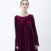 """Одежда ручной работы. Ярмарка Мастеров - ручная работа Платье из бархата """"Изыск"""". Handmade."""