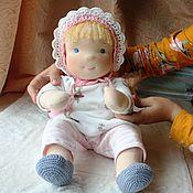 Вальдорфские куклы и звери ручной работы. Ярмарка Мастеров - ручная работа Вальдорфская кукла малыш 42 см. Handmade.