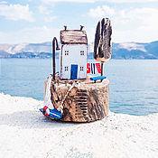 Для дома и интерьера ручной работы. Ярмарка Мастеров - ручная работа Дом на острове driftwood. Handmade.