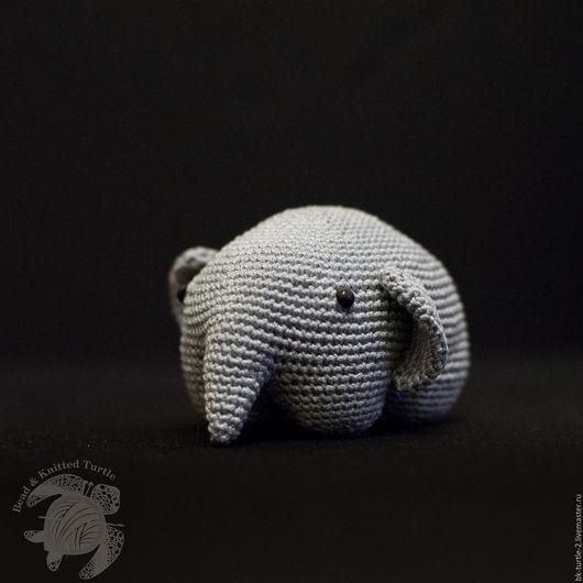 Игрушки животные, ручной работы. Ярмарка Мастеров - ручная работа. Купить Маленькие слоники. Handmade. Бежевый, слоны, купить слона