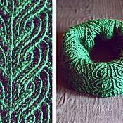 Аксессуары handmade. Livemaster - original item Scarf - Snoop Curl.. Handmade.
