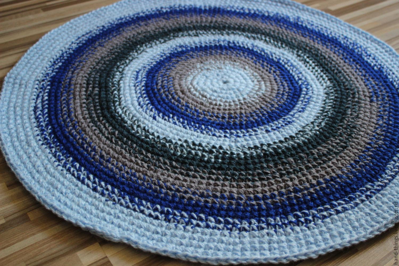 Советы для начинающих о том, как вязать бабушкин коврик