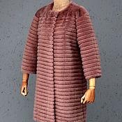 Одежда ручной работы. Ярмарка Мастеров - ручная работа Шубка из розовой норки. Handmade.