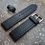 Аксессуары handmade. Livemaster - original item Leather strap 22mm 20mm. Handmade.