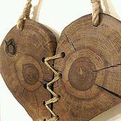 Для дома и интерьера ручной работы. Ярмарка Мастеров - ручная работа Сердце из дуба. Handmade.
