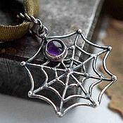 Украшения handmade. Livemaster - original item Pendant pendant silver