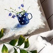 Картины и панно ручной работы. Ярмарка Мастеров - ручная работа Колокольчики. Handmade.
