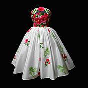 """Одежда ручной работы. Ярмарка Мастеров - ручная работа Платье""""Мелодия Цветов """" корсет. Handmade."""