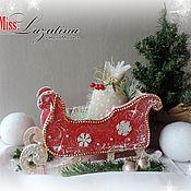 Подарки к праздникам ручной работы. Ярмарка Мастеров - ручная работа Новый год к нам мчится. Handmade.