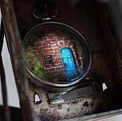 Украшения ручной работы. Ярмарка Мастеров - ручная работа Синяя дверь. Подвеска. Handmade.