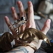 Куклы и игрушки ручной работы. Ярмарка Мастеров - ручная работа Дракон - Страж Золотой Луны. Handmade.