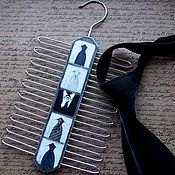 Аксессуары ручной работы. Ярмарка Мастеров - ручная работа Вешалка для галстуков. Handmade.