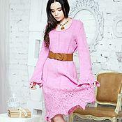 Платья ручной работы. Ярмарка Мастеров - ручная работа Платья: Розовое платье. Handmade.