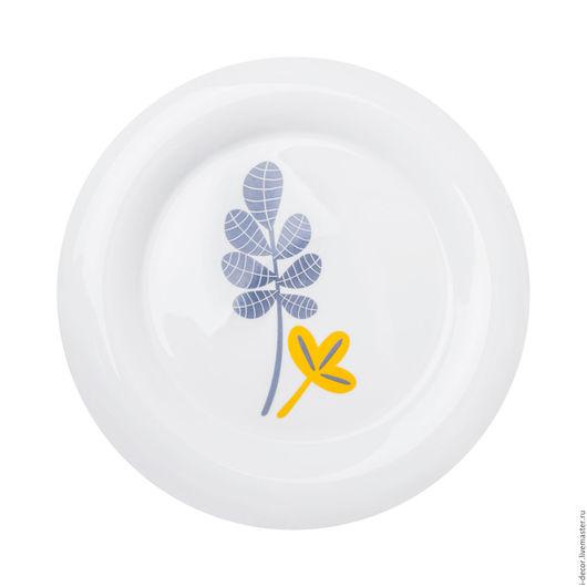 Фарфоровая тарелка из коллекции Минимализм