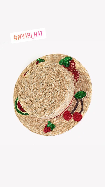 """Шляпы ручной работы. Ярмарка Мастеров - ручная работа. Купить Шляпка """"Ягодный бум"""". Handmade. Рисунок, модная шляпка"""