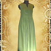 Одежда handmade. Livemaster - original item Dress linen summer