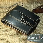 Сумки и аксессуары handmade. Livemaster - original item Men`s wallet on the button. Handmade.