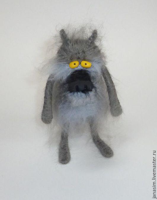 """Игрушки животные, ручной работы. Ярмарка Мастеров - ручная работа. Купить Волк из м/ф """"Жил-был пес..."""". Handmade."""