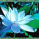 """Браслеты ручной работы. Браслет  """"Голубой Лотос"""" """"Цветок Египетских Фараонов 3"""" (Бирюза). VIOLETT design. Ярмарка Мастеров. Бусы"""
