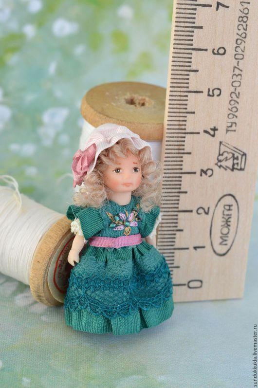 Коллекционные куклы ручной работы. Ярмарка Мастеров - ручная работа. Купить Кукла для куклы миниатюрная  4.5 см.. Handmade.