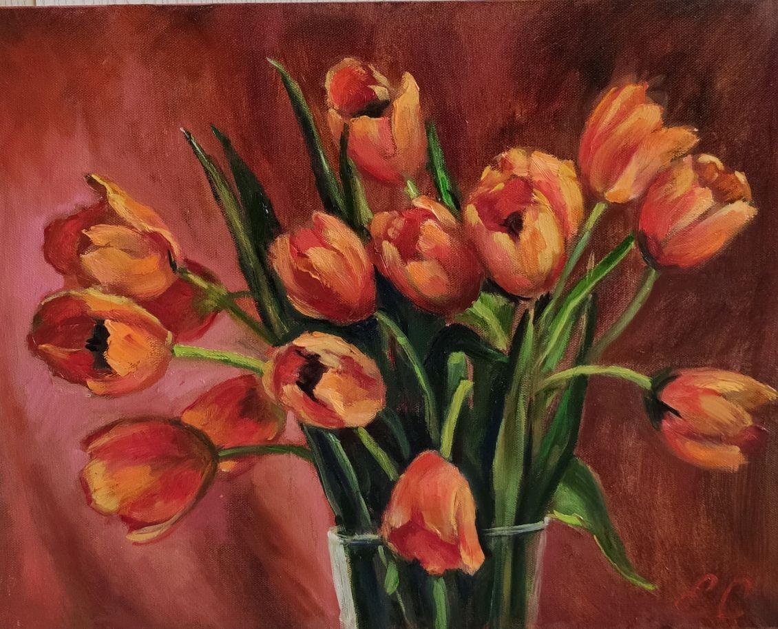 Тюльпаны, Картины, Ярославль,  Фото №1