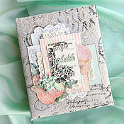 Свадебный салон ручной работы. Ярмарка Мастеров - ручная работа Фотоальбом свадебный винтажный на годовщину. Handmade.