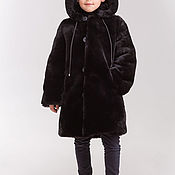 Работы для детей, handmade. Livemaster - original item A Mouton coat for a boy. Handmade.
