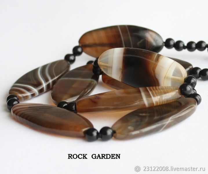 Agate      shape 48h20h6mm - (132), Beads1, St. Petersburg,  Фото №1