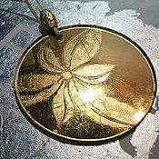 Подарки к праздникам handmade. Livemaster - original item Golden flower author Christmas toy gift for new year. Handmade.