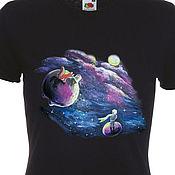 Одежда handmade. Livemaster - original item T-shirt with print to order