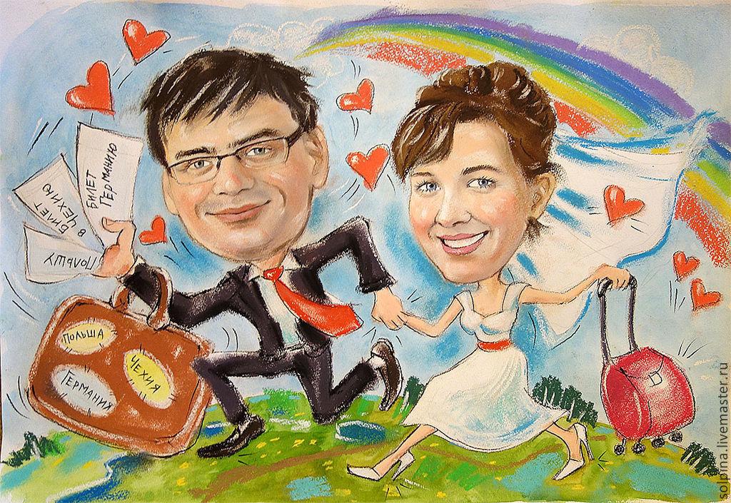 редкое, открытка шарж на день свадьбы воскресенье горожане