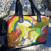 Classic Bag handmade. Livemaster - original item Bag
