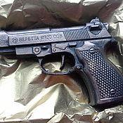 Косметика ручной работы handmade. Livemaster - original item Handmade soap Gun Beretta gift box. Handmade.