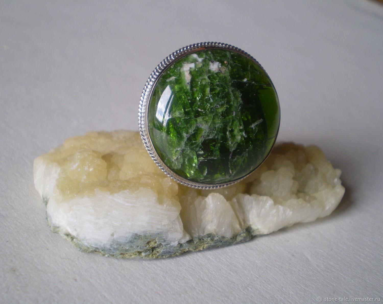 Кольцо с хромдиопсидом, Кольца, Иркутск,  Фото №1