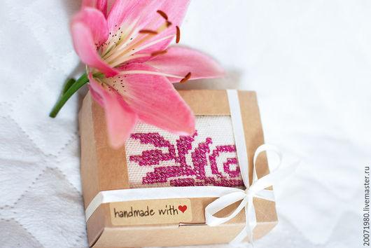 Персональные подарки ручной работы. Ярмарка Мастеров - ручная работа. Купить Подарок женщине Игольница (5). Handmade. Розовый, игольница