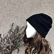 Аксессуары ручной работы. Ярмарка Мастеров - ручная работа Весенняя шапка бини  из шелка и шерсти,тонкая,теплая. Войлок.. Handmade.