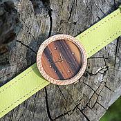 Украшения ручной работы. Ярмарка Мастеров - ручная работа Наручные часы из дерева (платан). Handmade.