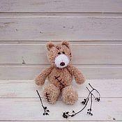 Куклы и игрушки ручной работы. Ярмарка Мастеров - ручная работа Мишка Тедди вязаный. Handmade.