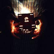 Упаковка ручной работы. Ярмарка Мастеров - ручная работа Куб-Ночник CUB Mini Stars, упаковка для подарка ручной работы. Handmade.