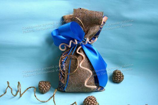 """Подарочная упаковка ручной работы. Ярмарка Мастеров - ручная работа. Купить Упаковка подарка """"Синее неба"""". Handmade. Упаковка подарка"""