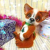 Куклы и игрушки handmade. Livemaster - original item Felted dog. (felted toy). Handmade.