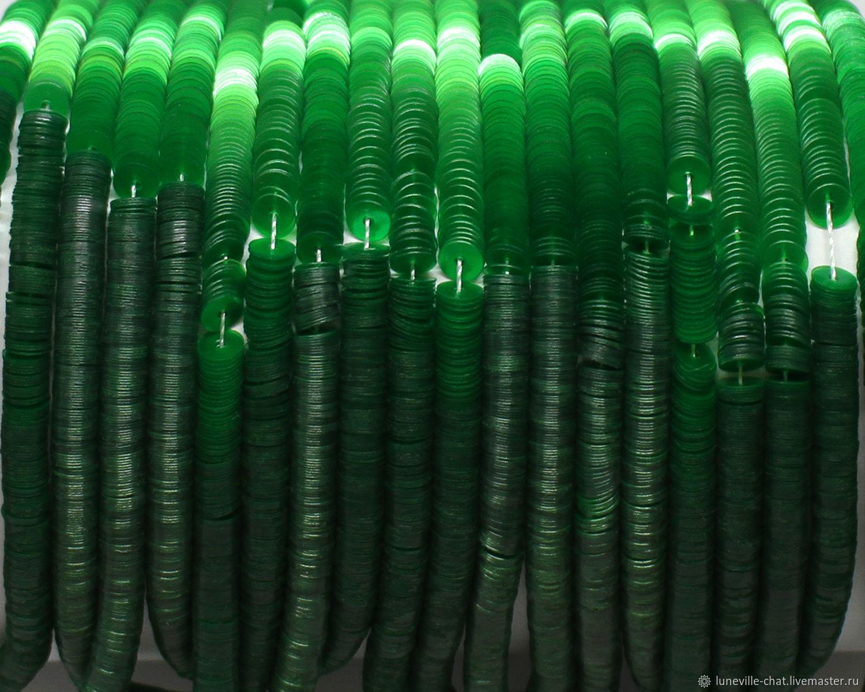 Французские пайетки 4 мм жемчужные 4651, Пайетки, Санкт-Петербург,  Фото №1