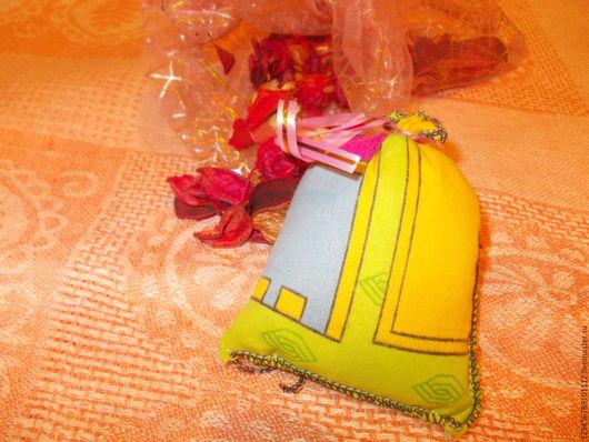 Комплекты аксессуаров ручной работы. Ярмарка Мастеров - ручная работа. Купить можжевеловый мешочек саше. Handmade. Хаки, можжевеловая стружка