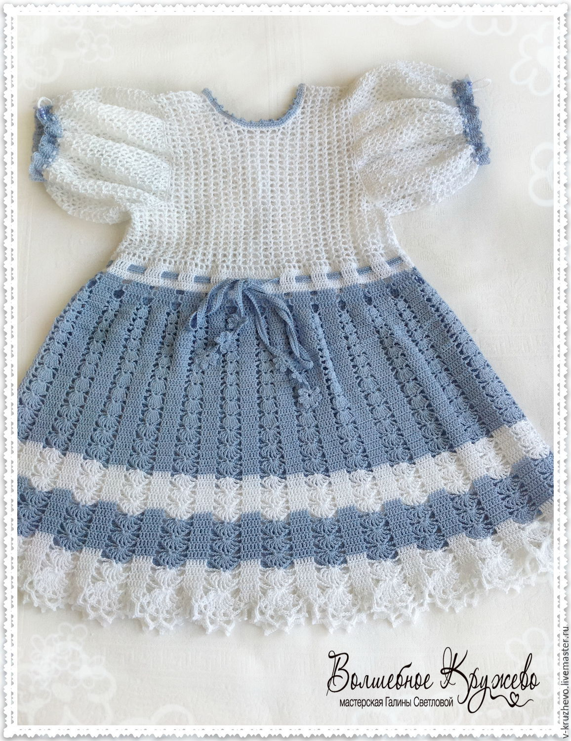 15ceda45a9508 Clothes for Girls handmade. Livemaster - handmade. Buy Knitted baby dress  for baby girl ...