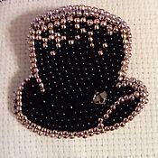 """Украшения ручной работы. Ярмарка Мастеров - ручная работа Брошь """"Шляпа"""". Handmade."""