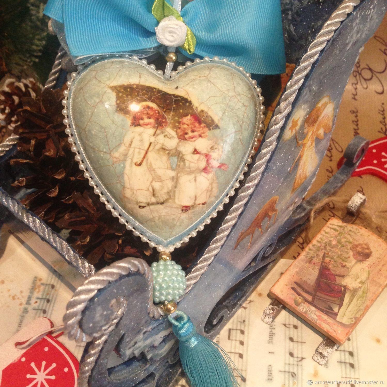 """Интерьерное украшение   """"Эх,снег,снежок..."""", Новогодние сувениры, Пенза,  Фото №1"""