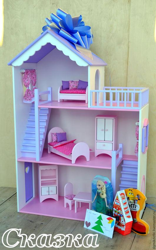 Кукольный дом ручной работы. Ярмарка Мастеров - ручная работа. Купить Кукольный домик. Handmade. Кукольный дом, домик