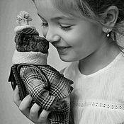 Куклы и игрушки handmade. Livemaster - original item Teddy Bear Buba Bobkovich. Handmade.